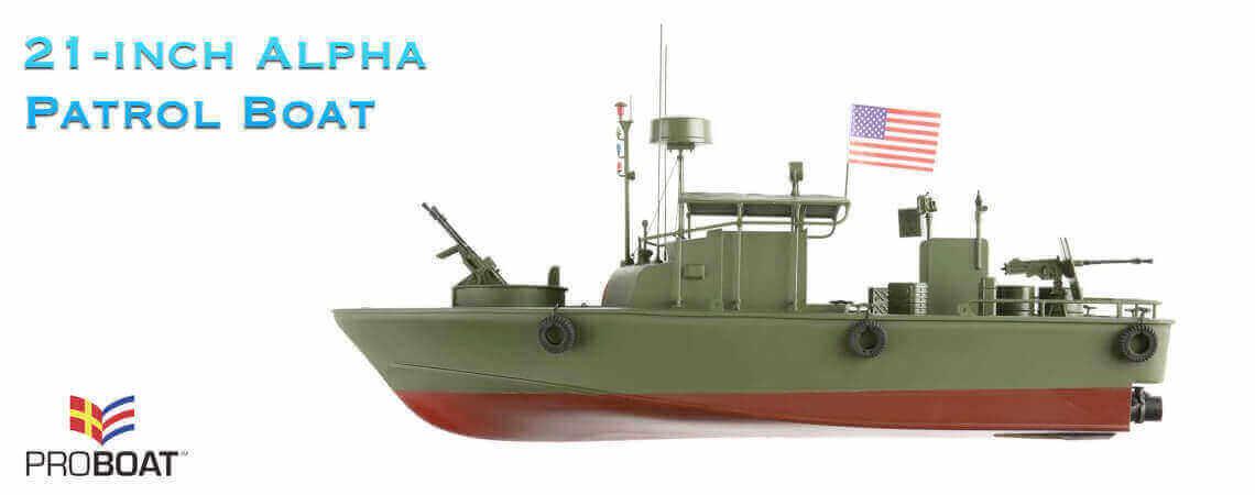Pro Boat - 21-inch Alpha Patrol Boat